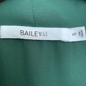 Bailey 44 Tops - SOLD Anthro Bailey 44 Front Tie Blouse Green S